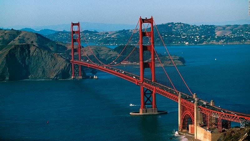 Ponte Golden Gate - Califórnia
