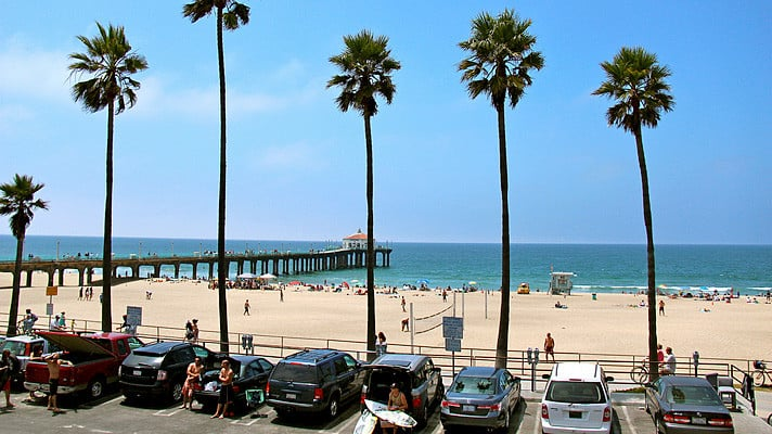 Praias em Los Angeles