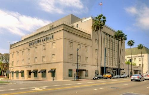Loja Saks Fifth Avenue em Los Angeles