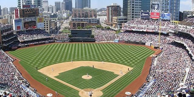Estádio de beisebol PETCO Park em San Diego