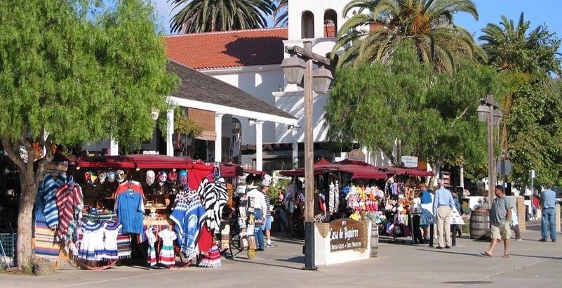 Passeios históricos em San Diego na Califórnia
