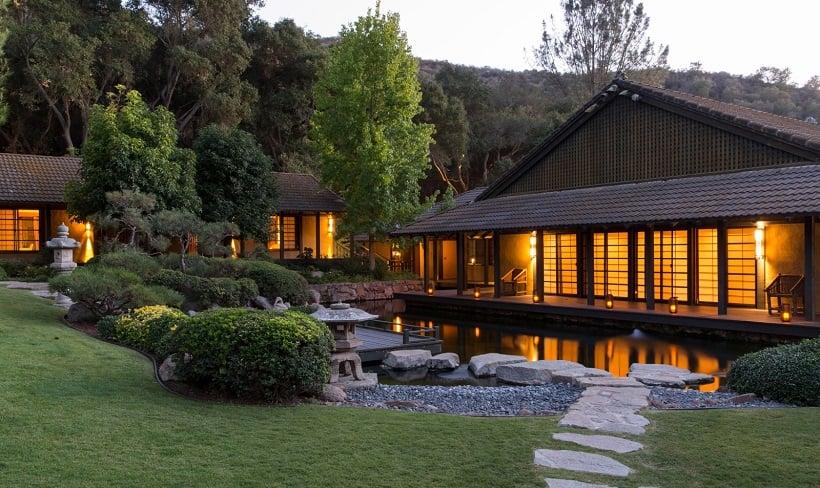 The Golden Door Spa em Escondido na Califórnia
