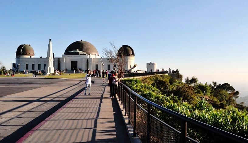 Passeios turísticos no Griffith Park em Los Angeles na Califórnia