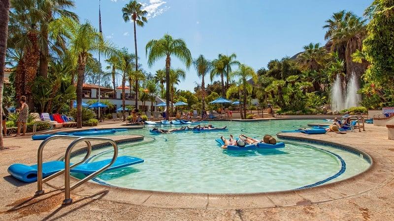 Glen Ivy Hot Springs Spa em Corona na Califórnia