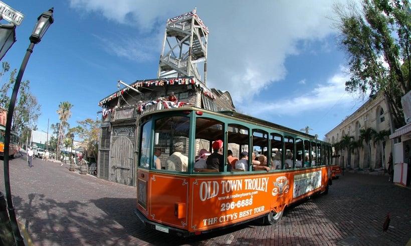 Tour de hop on hop off trolley em San Diego