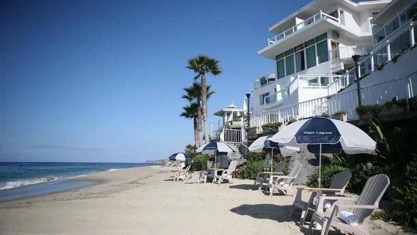 Hotéis situados na beira do mar em Laguna Beach