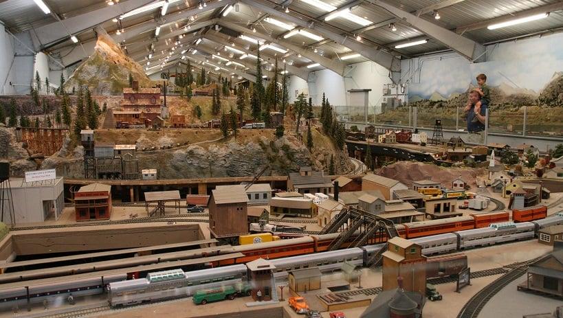 Museu Model Railroad em San Diego