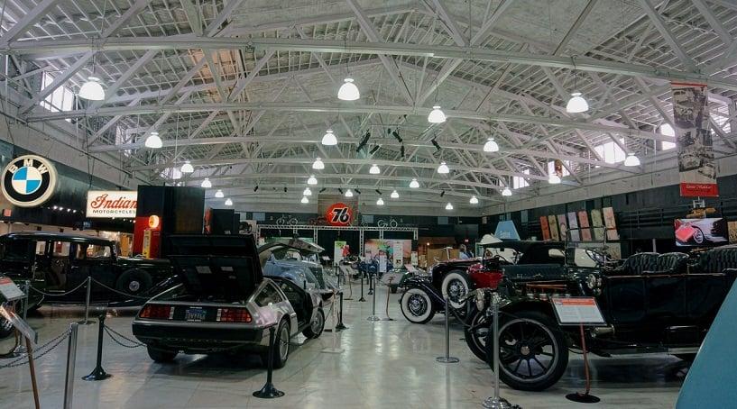 Acervo no San Diego Automotive Museum