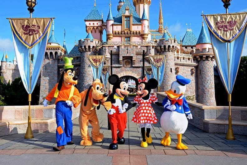 Parques da Disneyland Califórnia