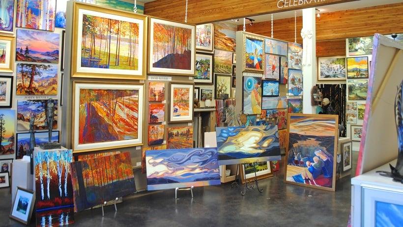 City Art Cooperative Gallery em San Francisco na Califórnia