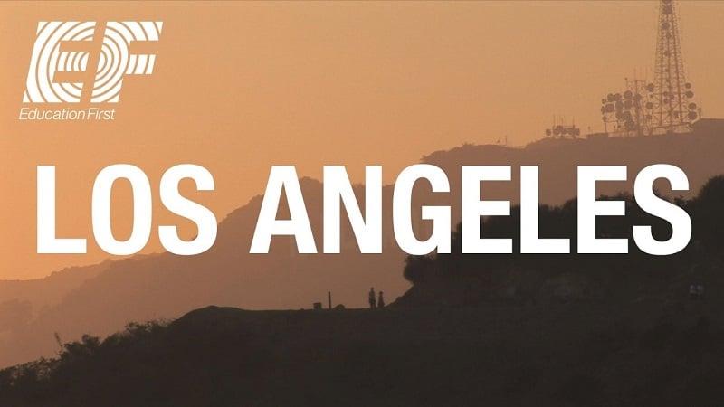 Escola de inglês Education First em Los Angeles na Califórnia