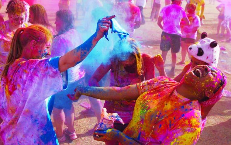 O que fazer no Festival of Colors LA em Los Angeles