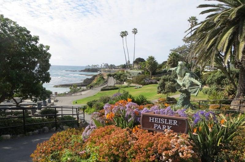 Parque em Laguna Beach