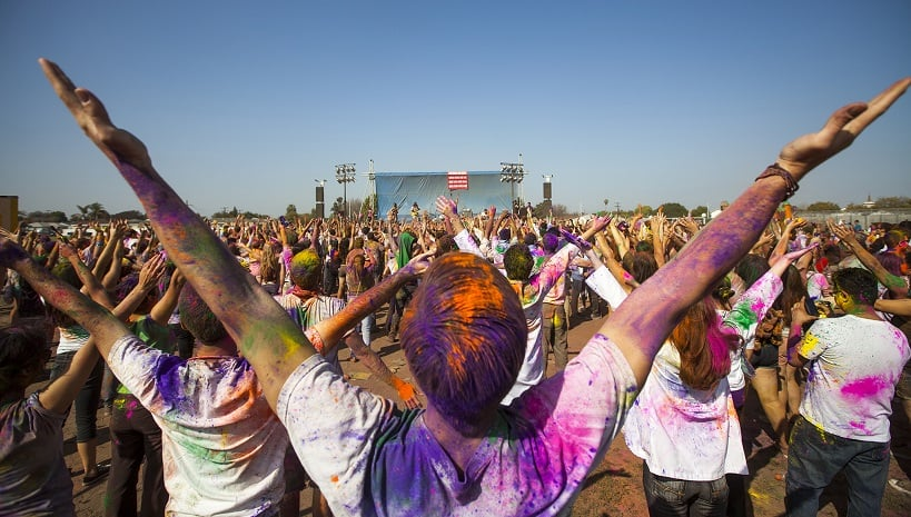 Dados e curiosidades sobre o Festival of Colors LA