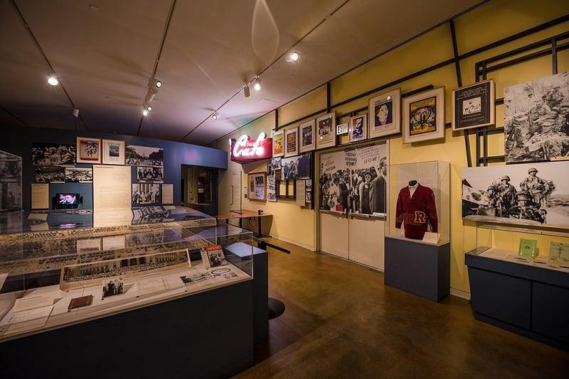 Artigos no Japanese American National Museum em Los Angeles