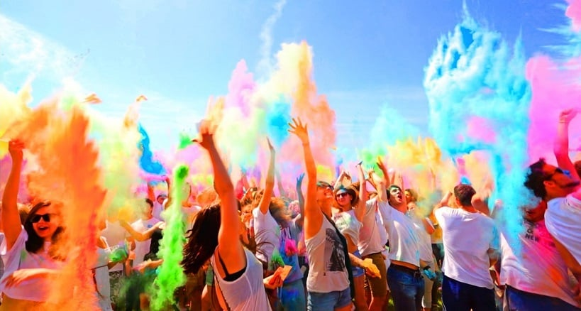 Festival of Colors LA em Los Angeles