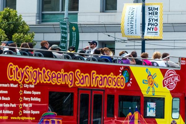All Loops Bus Tour - San Francisco Double Deck Bus Tours
