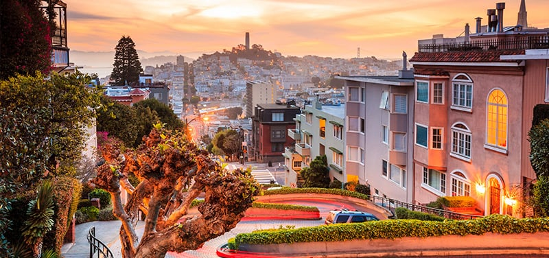 San Francisco em fevereiro