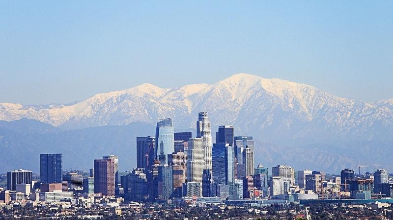 Inverno em Los Angeles - Fevereiro