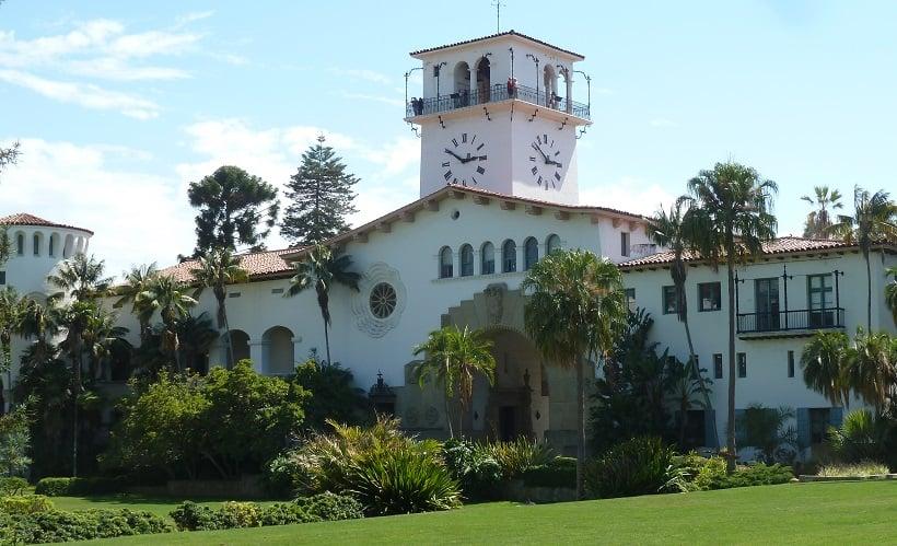 Atrativos no Santa Bárbara County Courthouse