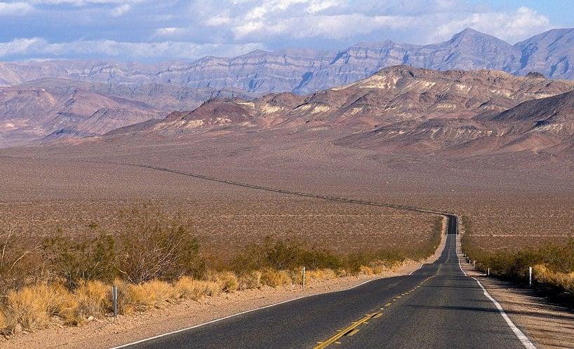 Parque Nacional do Vale da Morte na Califórnia