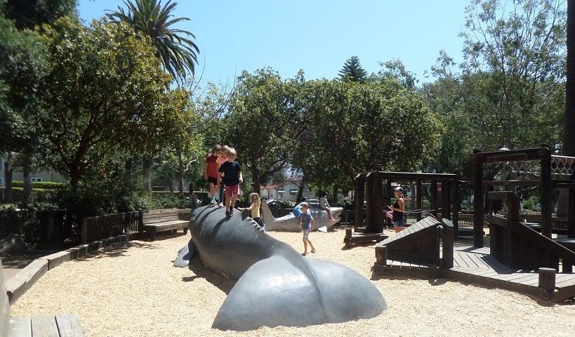 Turismo no Alice Keck Park Memorial Gardens em Santa Bárbara