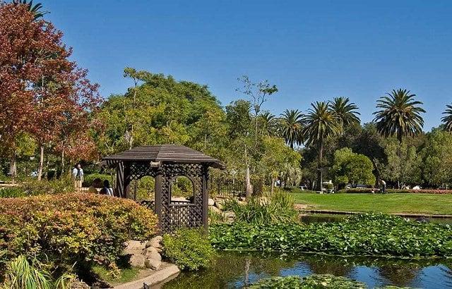 Alice Keck Park Memorial Gardens em Santa Bárbara