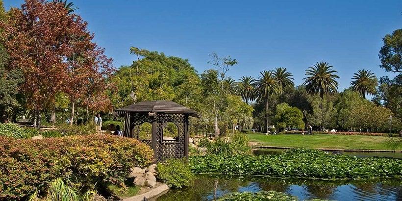 Atividades no Alice Keck Park Memorial Gardens em Santa Bárbara