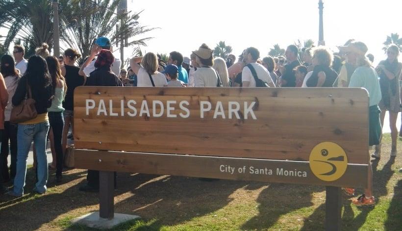 Visita ao Parque Palisades Park em Santa Mônica