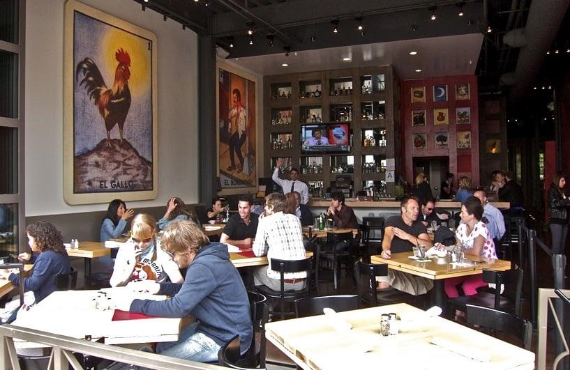 Restaurantes na Third Street Promenade em Santa Mônica