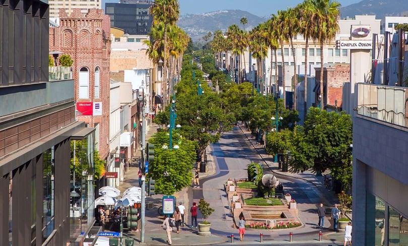 Third Street Promenade em Santa Mônica