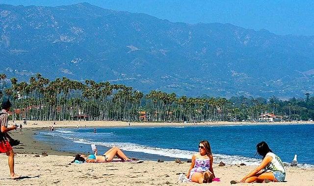 Praia East Beach em Santa Bárbara