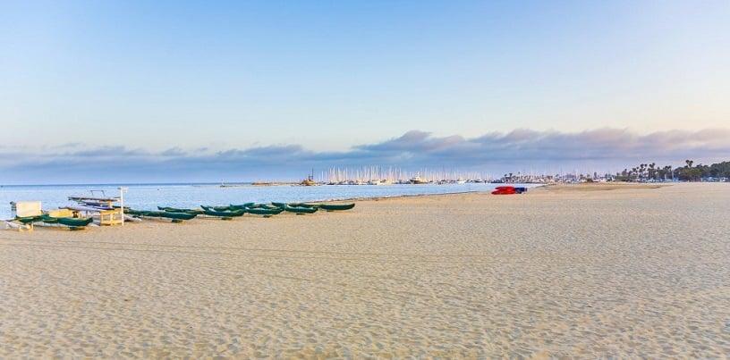 Praia West Beach em Santa Bárbara