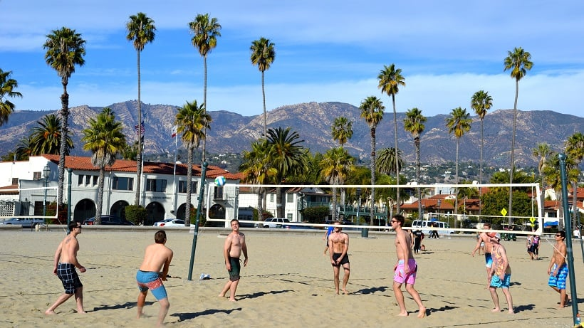 Atividades na Praia West Beach em Santa Bárbara
