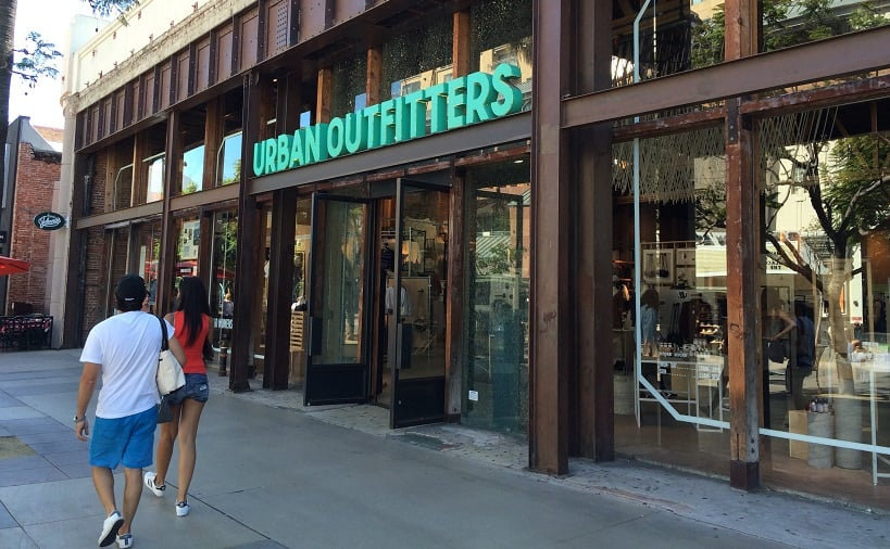 Urban Outfitters em Santa Mônica