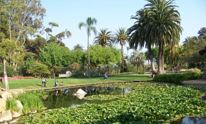 Visita ao Alice Keck Park Memorial Gardens em Santa Bárbara
