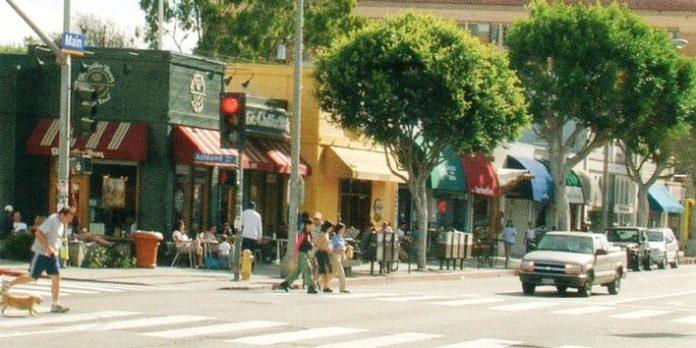Main Street em Santa Mônica