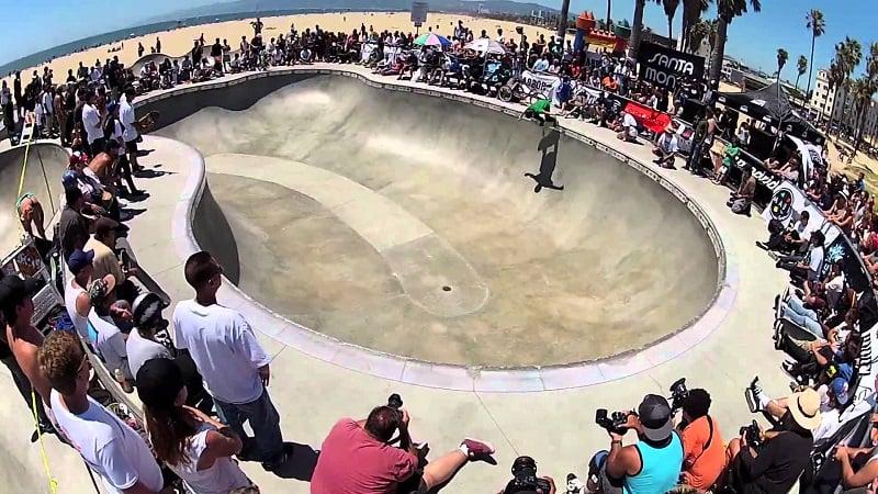 Pistas de skate para se divertir em Santa Mônica