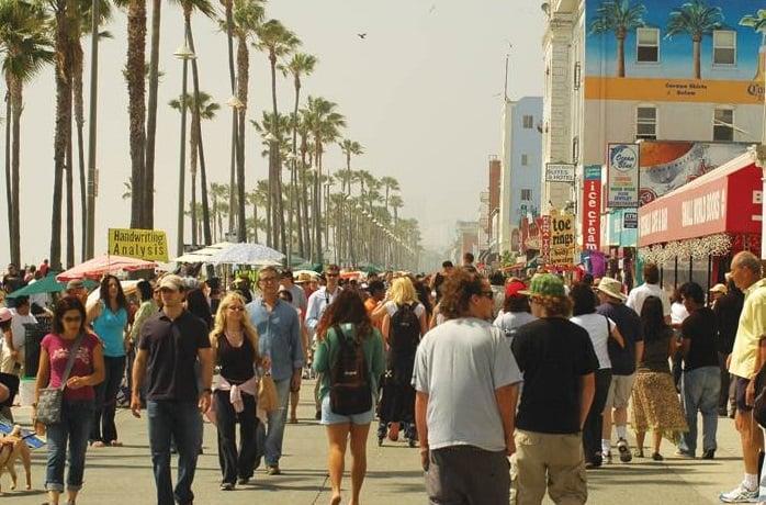 Turismo em Los Angeles em setembro