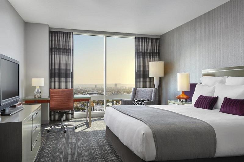 Quarto de hotel de Los Angeles