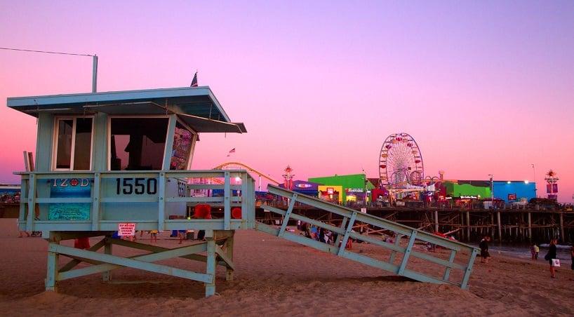 Los Angeles em julho