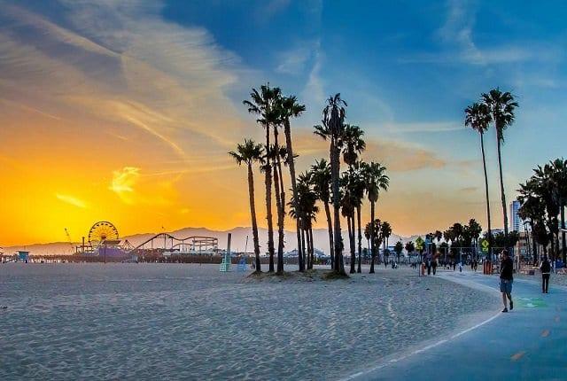Los Angeles em maio