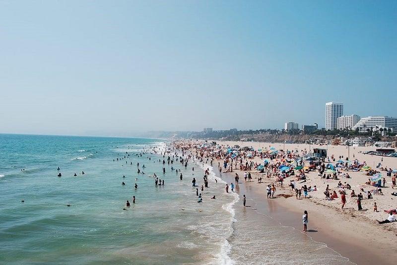 Condições climáticas no mês de julho em Los Angeles