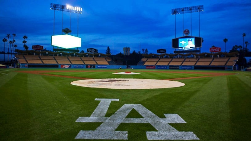Estádio de beisebol em Los Angeles