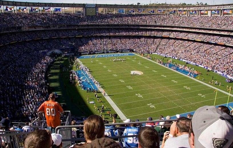 Qualcomm Stadium em San Diego