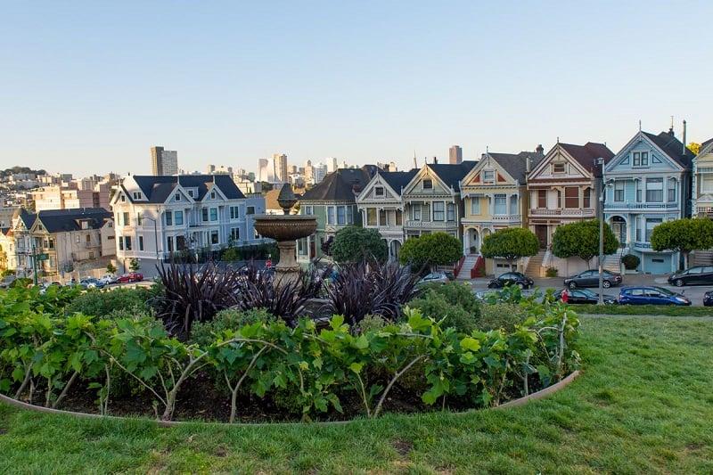 Passeios ao ar livre no verão em San Francisco