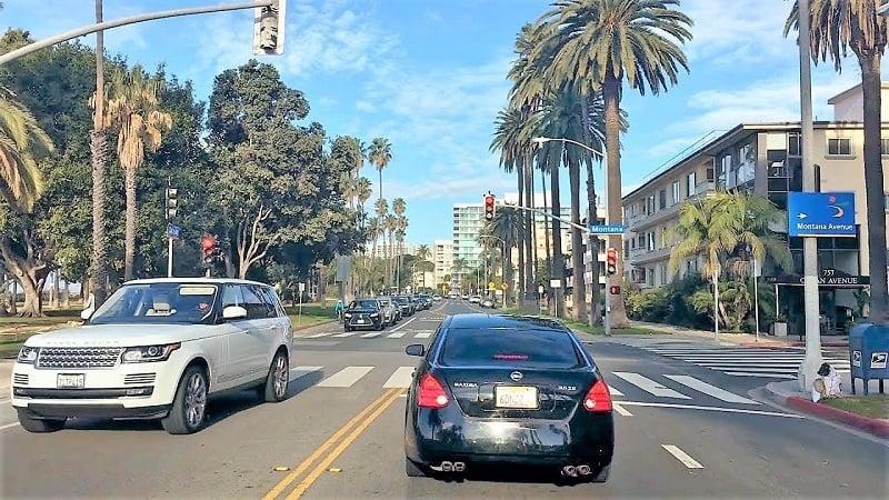 Serviço de aluguel de carro em Santa Mônica e na Califórnia