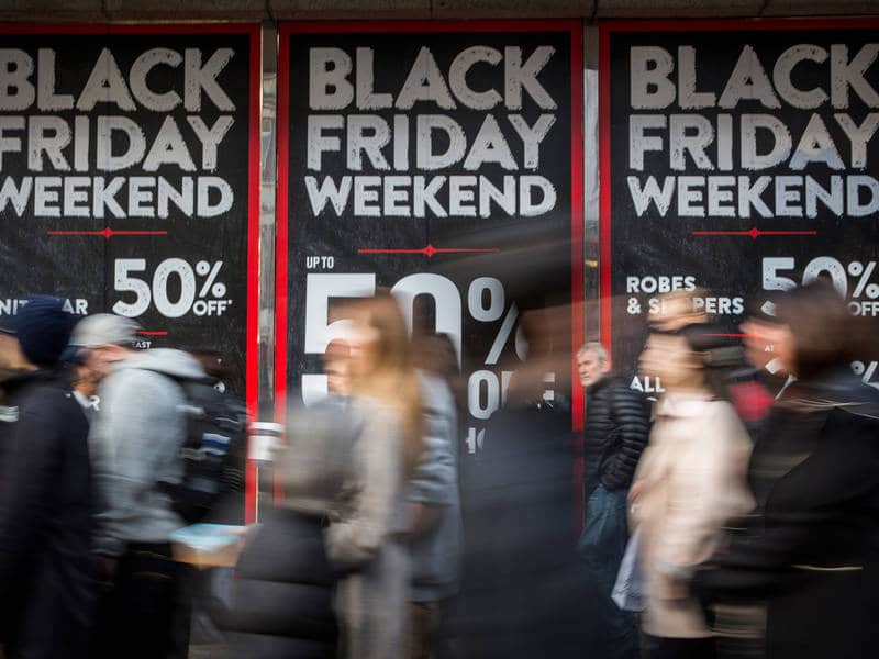 Compras na Black Friday em San Diego