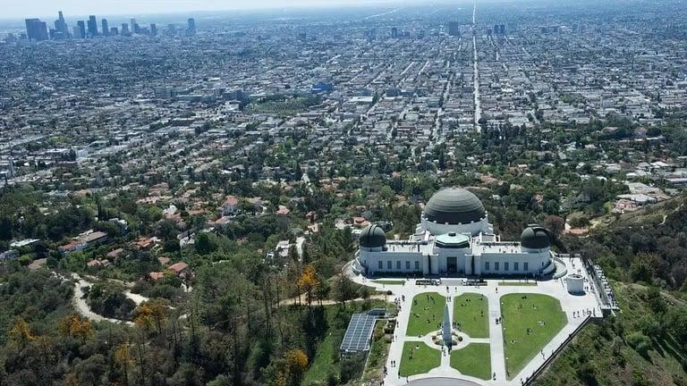 Passeio pelo Griffith Park em Los Angeles