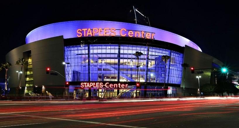 Staples Center para assistir o Los Angeles Lakers da NBA